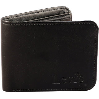 ZINIZONY Men'S BLACK Themes Leather RFID Blocking Wallet (Synthetic leather/Rexine)