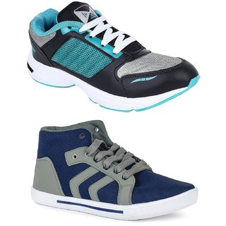 Chevit Mens COMBO Stylish Running Shoes (Sneakers and Sports Shoes)