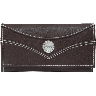 BCC LADIES HAND WALLET (Brown)150