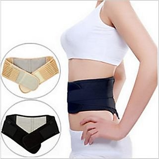 Importikah Self heating Waist Support Belt - Magnetic Back Pain Reliever
