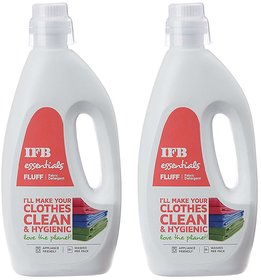 Essentials Fluff Front Load Fabric Detergent 1L PACK, 2 NOS