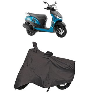 De Autocare Premium Quality Grey Matty Two Wheeler Scooty Body Cover For Yamaha Alpha