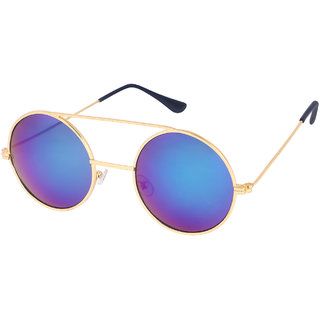 a0f8ed94103 Buy O Positive Stylish Round Blue Color Sunglasses Online   ₹499 from  ShopClues