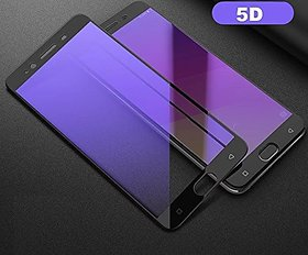 VIVO V7+ Tempered Glass 4D,3D Full Screen Full Glue Scr