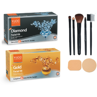 VLCC Diamond + Gold Facial Kit Combo