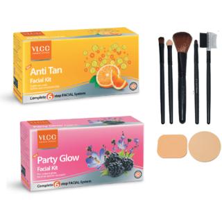 VLCC Anti-Tan + Party Glow Facial Kit Combo