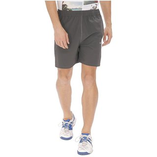 Nike Grey Polyester Lycra Running Shorts
