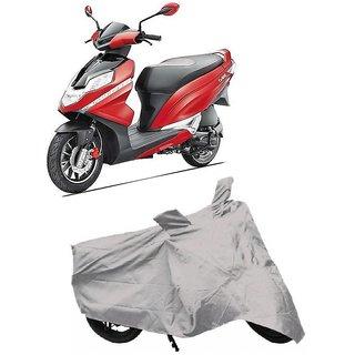 De Autocare Premium Quality Silver Matty Two Wheeler Scooty Body Cover For Hero Dare