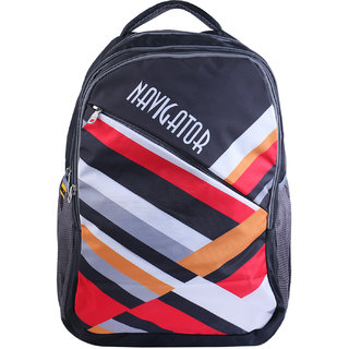 SureDeal Black Color 20 L Laptop Backpack For Unisex