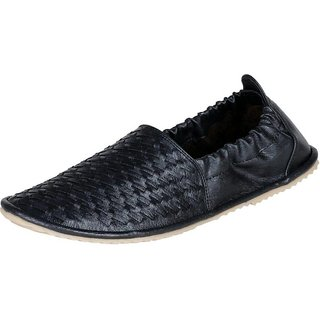 906 Loafers For Men  (Black)