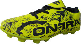 Port Cyber Neon Green Black Football Shoes Green