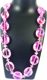 Zion Charming Lip Pink Crystal Chain