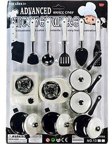 Kids Play Toy Cooking Kitchen Set-12pcs.