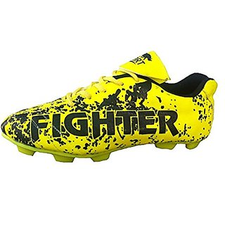 Port Mens Fighter Green Pu Soccer Shoes
