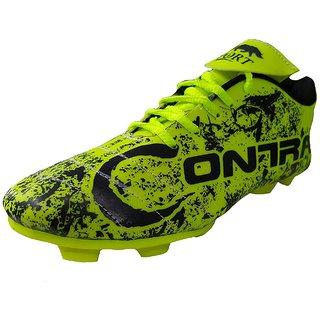 Port Mens Contra Green Pu Soccer Shoes