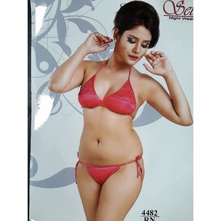 1364ce204f Buy GIRLS LADIES LACE BRA PANTY SET SIZE 28-34 STRINGS Online - Get 30% Off