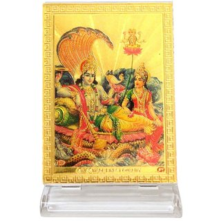 Ultimate Lord Vishnu Laxmi Car Dashboard Idols for Car and Also for home Decor