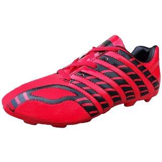 Port Mens Mystic Red Pu Soccer Shoes