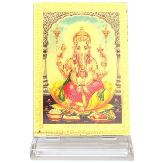 Ultimate Lord Ganesha Car Dashboard Brass Idols for Car and Also for home Decor