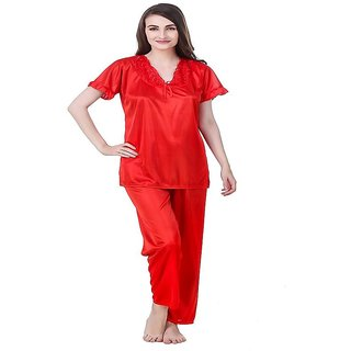 Aloof Women Hot Sexy Satin Lingerie Sleepwear
