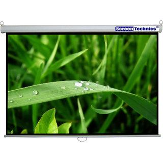 Screen Technics 4 H x 6 W Instalock projector screen Premium fabric