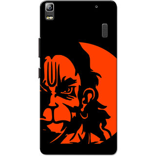 Lenovo K3 Note, Lenovo A7000, Lenovo A7000 Plus Hanuman Orange Slim Fit Hard Case Cover/Back Cover for Lenovo K3 Note/A7000/A7000 Plus