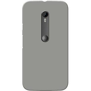 reputable site 515fa 3310e Moto G3 Case, Moto G Turbo Case, Grey Plain Colour Slim Fit Hard Case  Cover/Back Cover for Moto G 3rd Gen/Motorola Moto G3