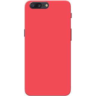 competitive price 46bc0 36792 OnePlus 5 Case, One Plus 5 Case, Peach Plain Colour Slim Fit Hard Case  Cover/Back Cover for OnePlus 5