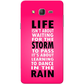 Galaxy On7 Case, Galaxy On7 Pro Case, Life Isn't About Waiting  Slim Fit Hard Case Cover/Back Cover for Samsung Galaxy On 7/On7 Pro