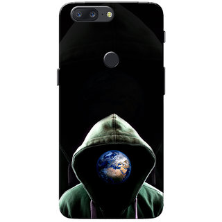 OnePlus 5T Case, Jacket Earth Slim Fit Hard Case Cover/Back Cover for One Plus 5T