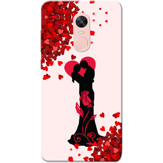Redmi Note 4, Redmi Note 4X Case, Fall Heart Couple Love  Slim Fit Hard Case Cover/Back Cover for Redmi Note 4/Redmi Note 4X - Valentines day gift