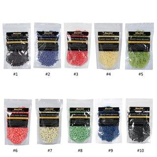 Paper-free Hard Wax Beans No Strip Depilatory Hot Wax Beans Full Body- 1Pack (Any random colour 100 gm)