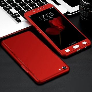 wholesale dealer 81cae 162e2 Buy Oppo A83 Red Colour 360 Degree Full Body Protection Front Back ...
