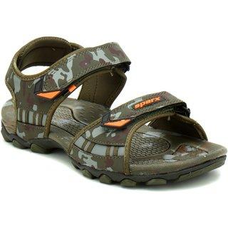 de42214982d70 Buy Sparx Men SM-467 Olive Camouflage Sandals Online   ₹849 from ShopClues