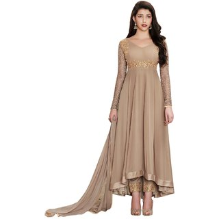 Latest Faux Georgette Party Wear Anarkali Salwar Kameez