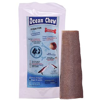 PET LIKES Dry Fish Fin for Young - Large (Pack of 4)