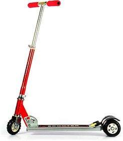 Goyal Traders Heavy Metallic Big Size 3 Wheel Height Adjustable Kids Folding Scooter  (Red)