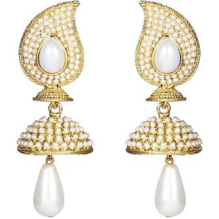 Huskey Pearl Ethnic Crazy Tower Earring