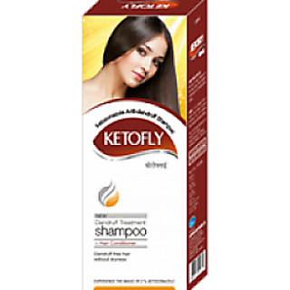 KETOFLY SHAMPOO 100ml each(PACK 2 )