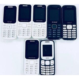 Set of 2 Feature Phones - Assorted | 1 Year WarrantyBazaar Warranty
