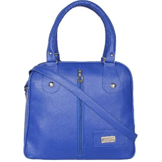 Tarshi Pu Blue Sling Bag For Women