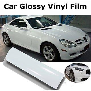 24x24 Glossy White Vinyl Car Wrap Sheet Roll Film Sticker Decal