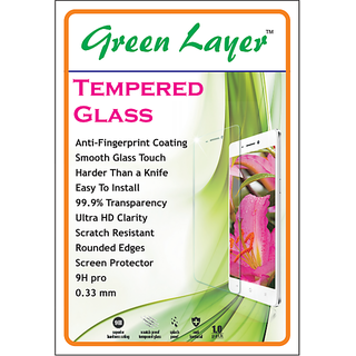 Lenovo K5 High Quality Tempered Glass Screen Guard By Green Layer