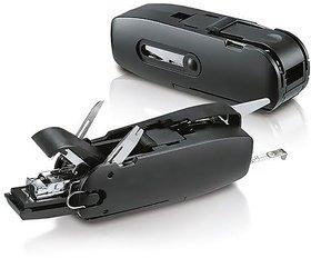 IBS Unique Gadget 10 in 1 Office Combo Toolkit Scissors MMeasurig Tape Stapler Opener Punch Ruler BLACK