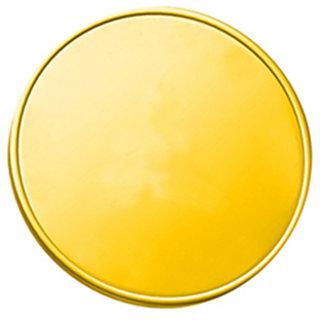 Plain 0.5 grams 995 24 kt Gold Coin