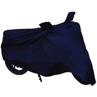 HMS Bike body cover Dustproof for Hero HF Deluxe - Colour Blue