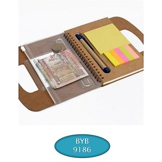 Note Book Sticky Note Pad By BJA9186