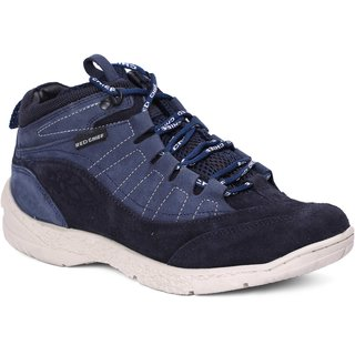 Red Chief Blue Men High Ankle Outdoor Casual Leather Shoes (RC3081 002)