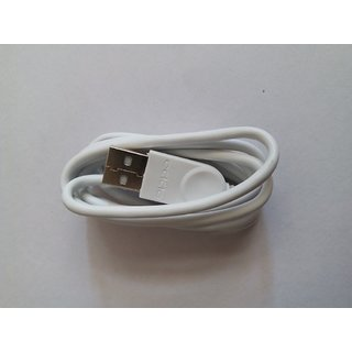 USB Data Cable For Oppo Mobile 1 Meter Long White Color