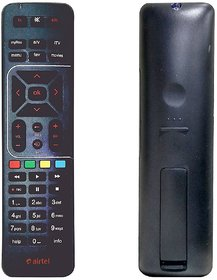 Airtel DIGITAL TV HD RECORDING ORIGINAL Remote Controller (Black)